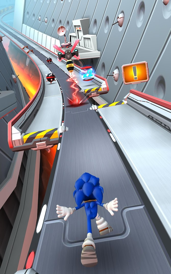 Sonic Dash 2: Sonic Boom Android 8