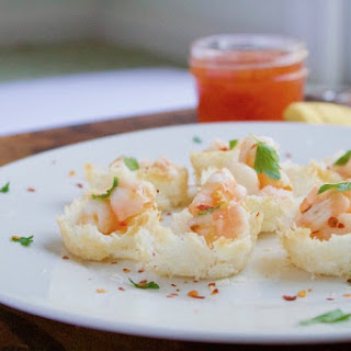 Baked Coconut Shrimp Cups Recipe