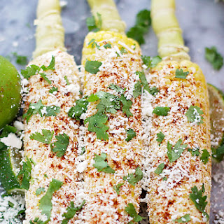 Mexican Corn on the Cob.