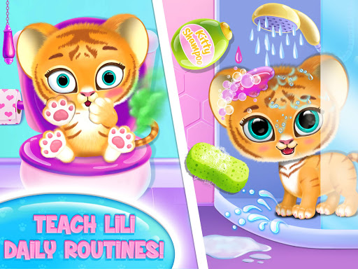 Baby Tiger Care - My Cute Virtual Pet Friend  image 9