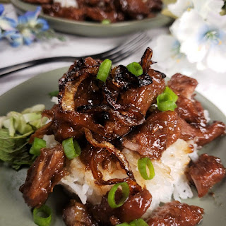 Pressure Cooker Thai Moo Wan Sweet Pork.