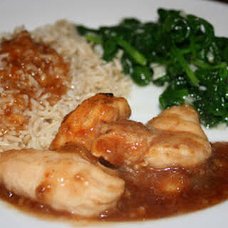 Chinese Lemon Chicken CrockPot.