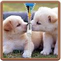 Nice Puppies Zip locker Theme icon
