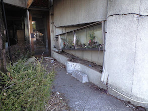 Photo: Damage from the earthquake in Fukushima City, Japan. *Photo credit: Cindy Charlton*