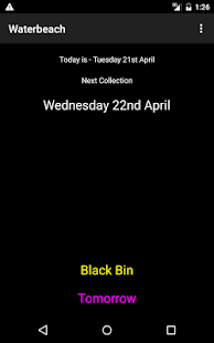 SCAMBS Bin Collections - screenshot thumbnail