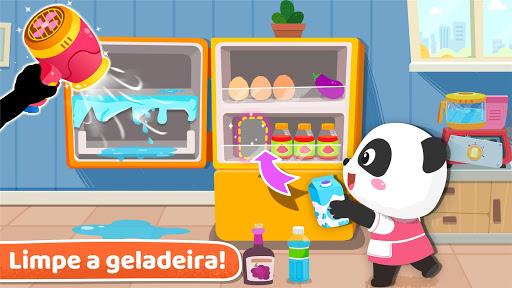Faxina na casa do Bebê Panda screenshot 3