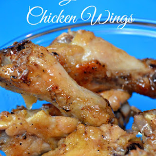 Baked Garlic Butter Chicken Wings Recipes