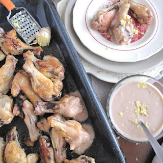 AIP / Oven Roasted Chicken Wings with Ginger Sauce.