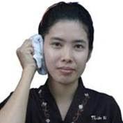 Chà khăn vùng mang tai