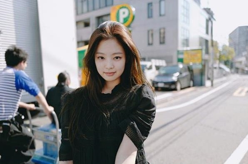 blackpink jennie heart flutter 7