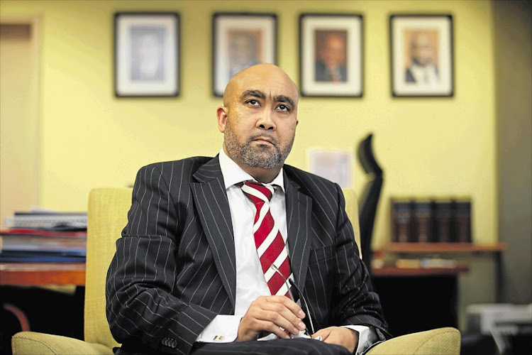 National director of public prosecutions Shaun Abrahams. Picture: SUNDAY TIMES