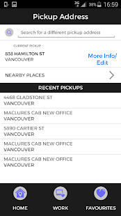 MacLure's Cabs- screenshot thumbnail