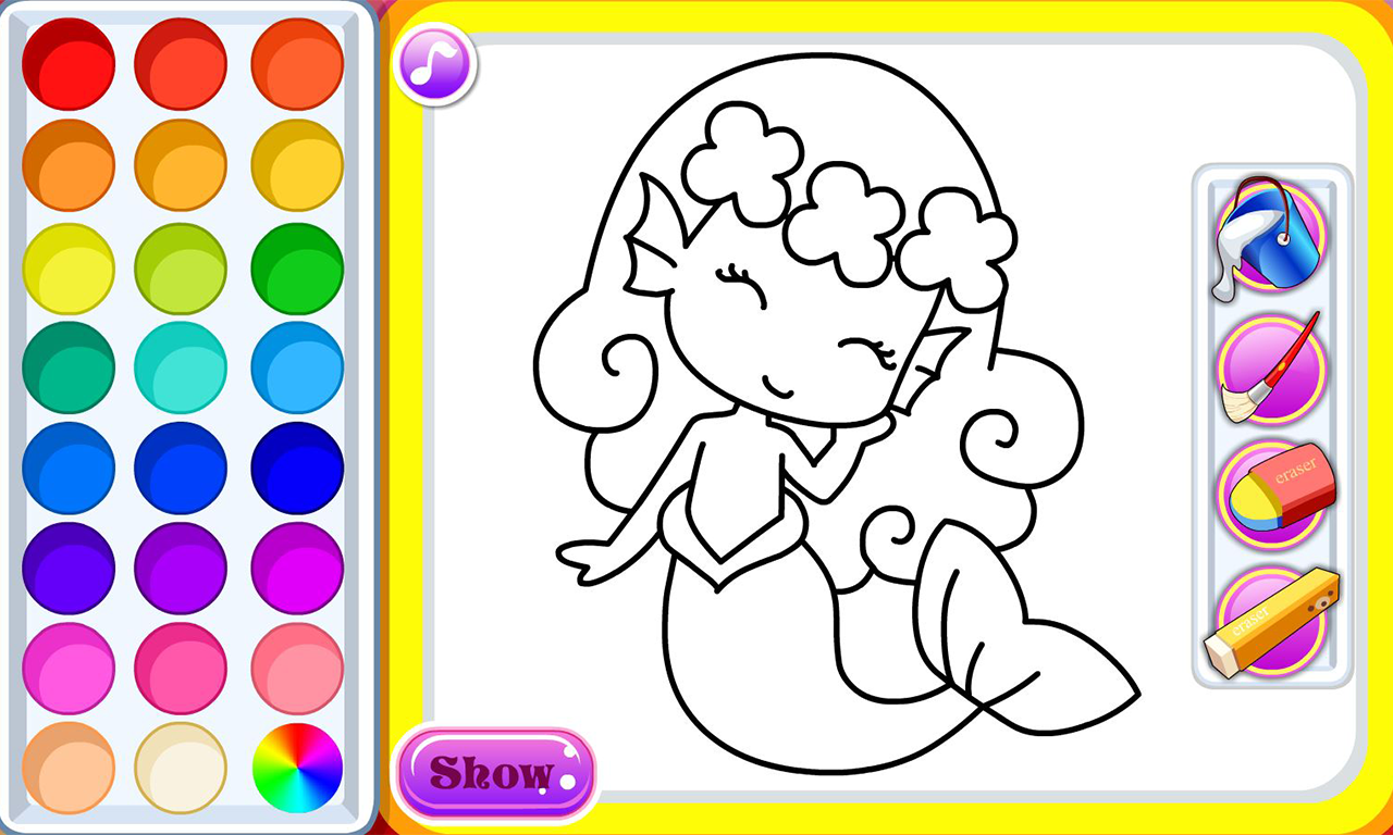 my coloring book screenshot - Coulering Book