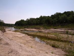 Photo: Downstream from the bridge
