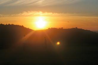 Photo: Sunset over Alverston