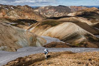 Photo: Rhyolite mountains on the Laugavegur