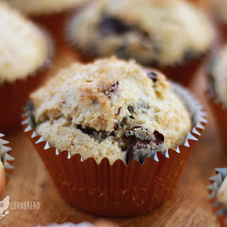 Coffee Shop Style Chocolate Chip Muffins Recipe
