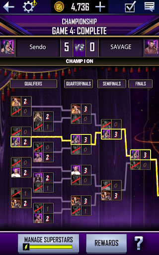 WWE SuperCard - Multiplayer Collector Card Game screenshot 13