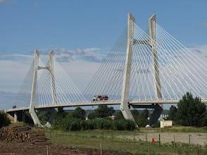 Photo: Tarascon-Beauciare Bridge on the Rhone River
