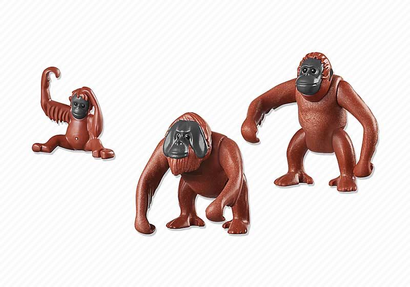 Contenido de Playmobil® 6648 Familia de Orangutanes