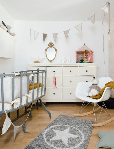 Déco scandinave chambre bébé