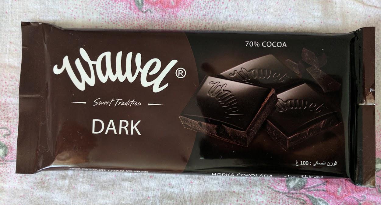70% wawel dark bar