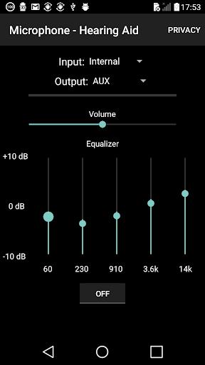 microphone - hearing aid screenshot 2