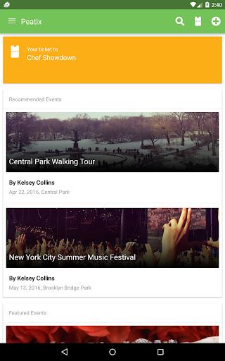 Peatix Screenshot