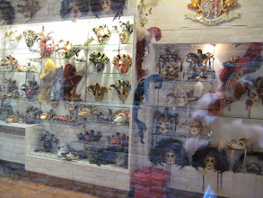 Photo: Venetian ball masques.