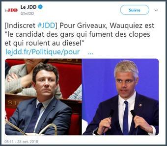 Griveaux - Wauquiez