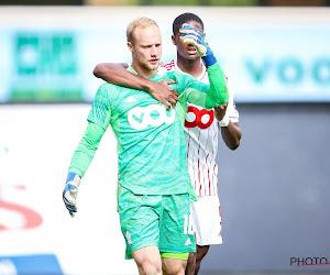 """Arnaud Bodart soulagé : """"Comme contre Genk ... sauf qu'on gagne à la fin"""""""