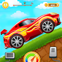 Kids Car Hill Racing: Games For Boys icon