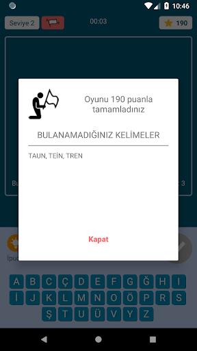 KeYa! Turkish word game 1.09 screenshots 5