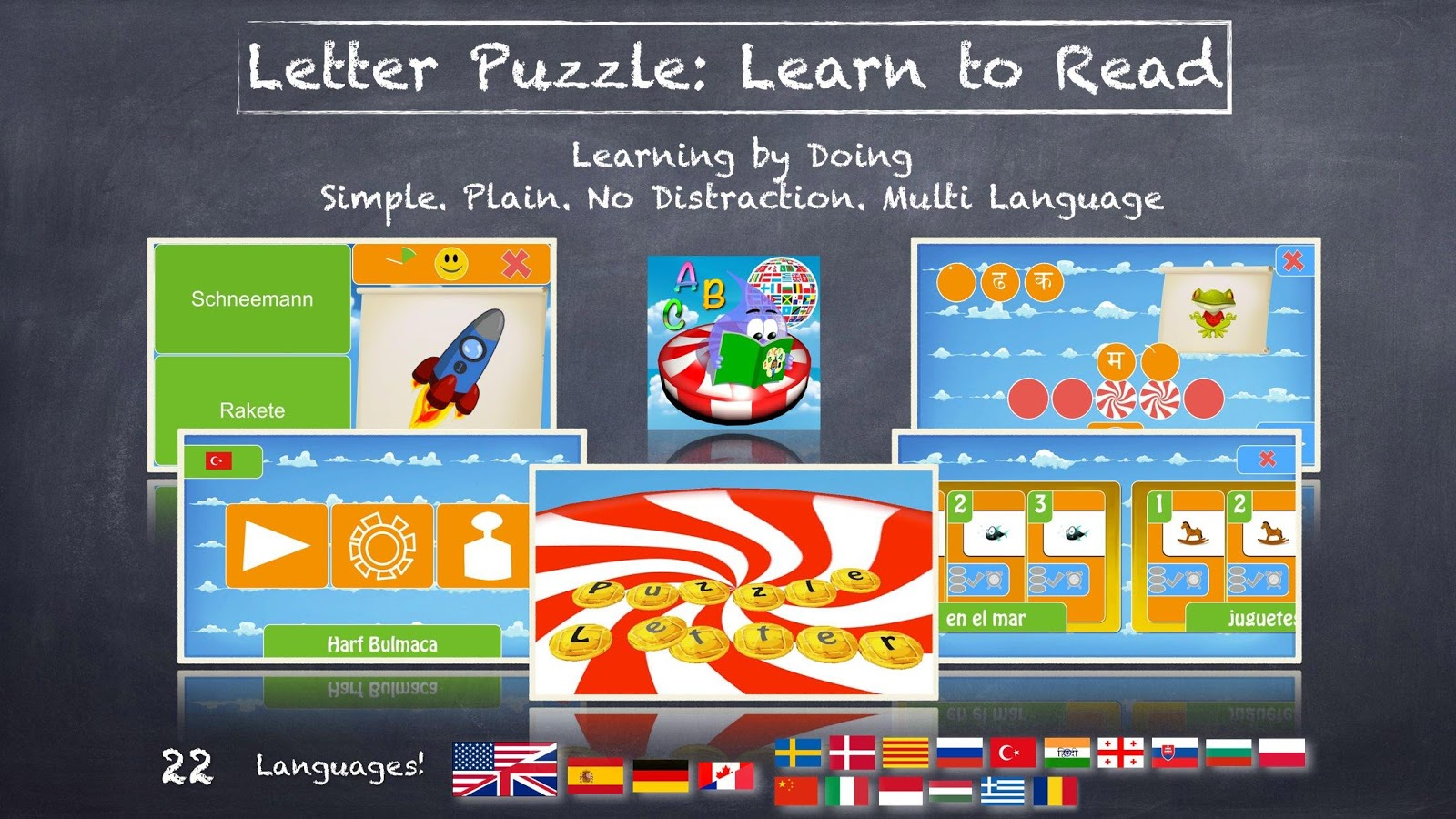 Letter Puzzle: Learn To Read- screenshot