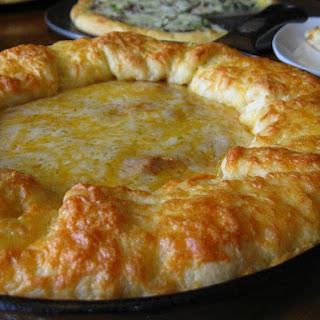 Deep Dish Stuffed Crust Pizza.