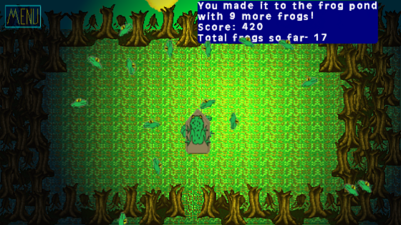 Frog Slide- screenshot