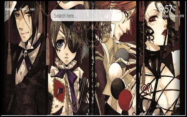 Black Butler HD Wallpapers Themes