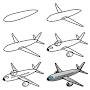 How To Draw Airplane APK icon