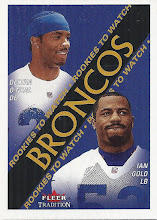 Photo: Ian Gold 2000 Fleer Tradition RC (with Deltha O'Neal)