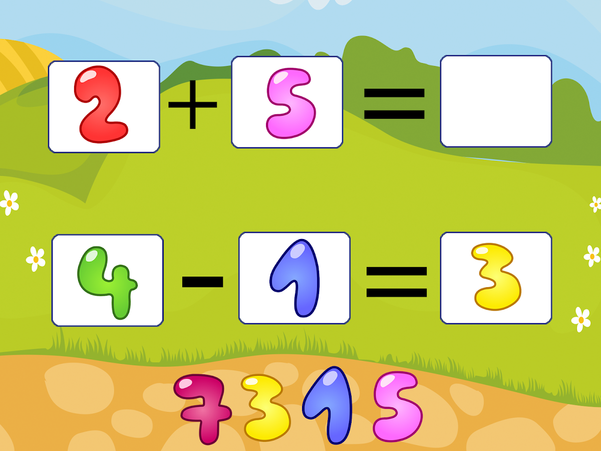Numbers for kids and toddlers- screenshot