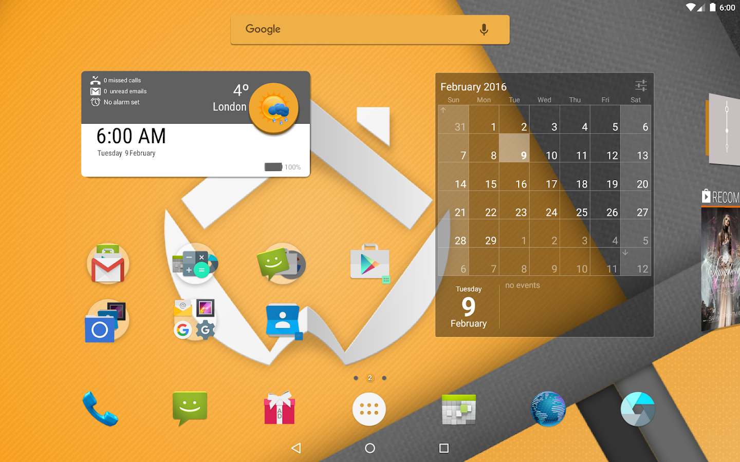 ADW Launcher 2 – Screenshot