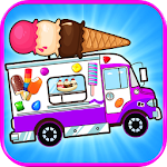 Ice Cream Truck Games FREE Icon