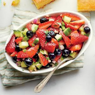 Strawberry-Blueberry Relish