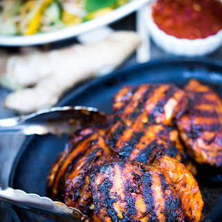 Grilled Sambal Chicken.