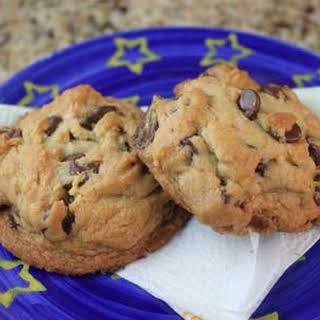 All Brown Sugar Chocolate Chip Cookies.