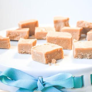 Peanut butter Biscoff fudge.