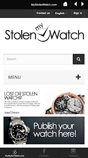 MyStolenWatch- screenshot thumbnail