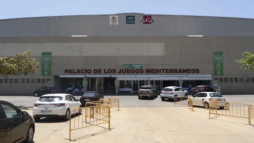 Foto de archivo del Palacio de los Juegos Mediterráneos.