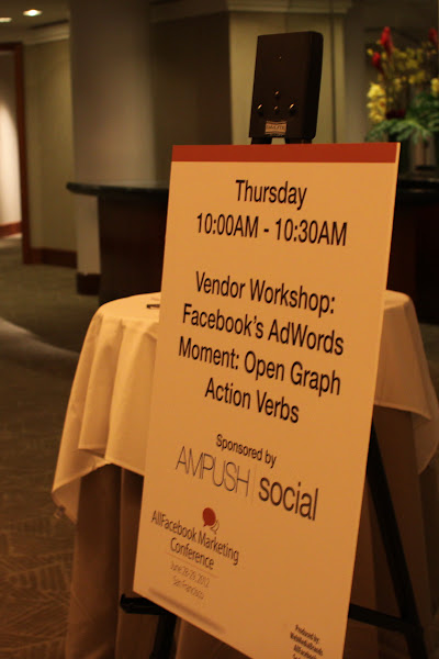 Photo: AllFacebook Marketing Conference June 28-29th 2012 San Francisco