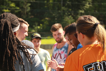Campers at Sports Camp 2018